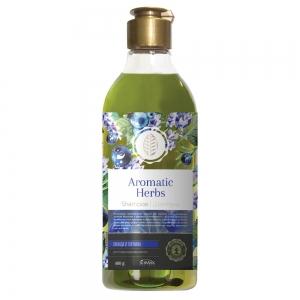Шампунь для волос Aromatic Herbs Лаванда и голубика, 400г