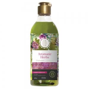 Шампунь для волос Aromatic Herbs Розмарин и красный клевер, 400г