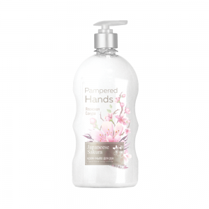 Крем-мыло для рук Pampered Hands Японская сакура, 650г