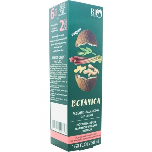 """Botanica  Ботаник-крем для лица для жирной и комбинированной кожи """"Балансирующий"""" день, 50мл"""