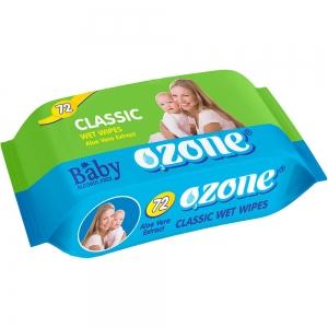 Салфетки влажные Детские 72 шт с экстракт алоэ