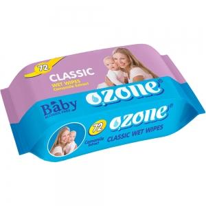 Салфетки влажные Детские 72 шт с экстракт ромашки