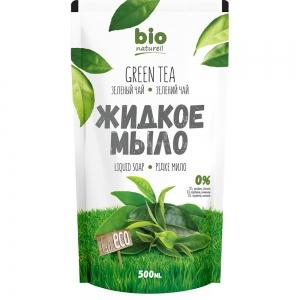 Жидкое мыло Зеленый чай запасная упаковка, 500мл