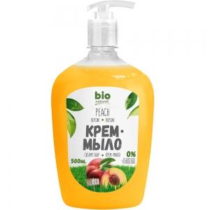 Жидкое крем-мыло Персик мыло-крем, 500мл