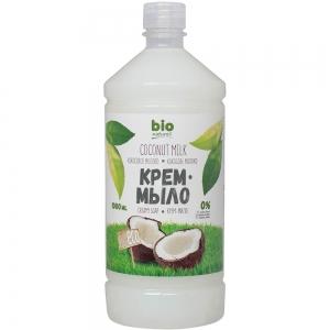 Жидкое крем-мыло Кокосовое молоко запасная упаковка, 1000мл
