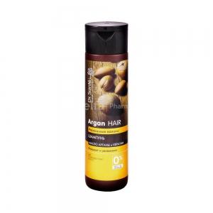 Argan Hair Роскошные волосы Шампунь для волос Очищает и увлажняет, 250мл