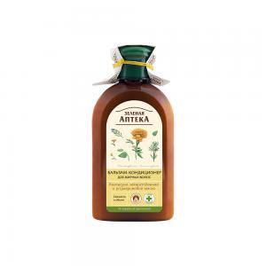 Зеленая аптека Бальзам-конд.300мл Календула, розм.масло для жирн.вол