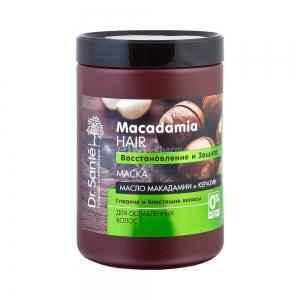 Macadamia Hair Восстановление и защита Маска для волос банка, 1000мл