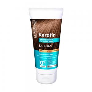 Dr.Sante Keratin Восстановление Бальзам д/тусклых и ломких волос, 200мл