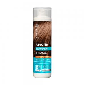 Dr.Sante Keratin Восстановление Шампунь д/тусклых и ломких волос, 250мл