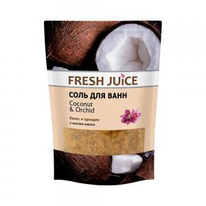 Соль для ванн Кокос и Орхидея, 500мл сашет