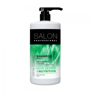 Шампунь д/волос Salon Professional SPA Восст.и увлажнение, 1000мл
