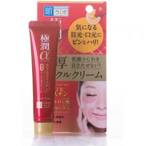 Крем для области вокруг глаз и носогубных складок Gokujyun Alpha, 30г