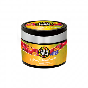 "Сахарный скраб для тела Tutti Frutti ""Папайа и тамарилло"", 300мл"