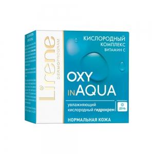 Oxy In Aqua Гидро-крем для лица Увлажняющий кислородный, 50мл