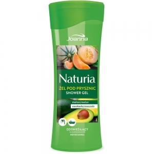 Naturia Гель для душа Дыня и авокадо, 300мл