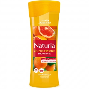 Naturia Гель для душа Грейпфрут и апельсин, 300мл