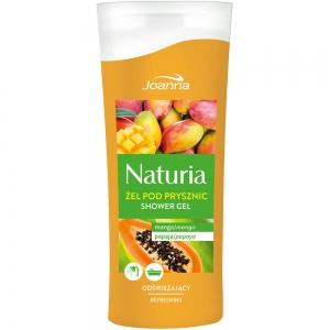 Naturia Гель для душа Манго и папайя, 100мл