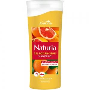 Naturia Гель для душа Грейпфрут и апельсин, 100мл