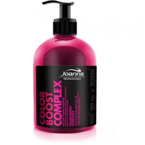 Professional Color Boost Complex Оттеночный шампунь для волос Теплый розовый с протеинами пшеницы, 500мл