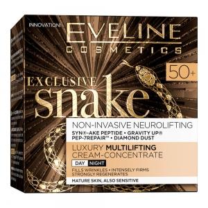 Exclusive Snake 50+ Крем-концентрат для лица Эксклюзивный мультилифтинг, 50мл