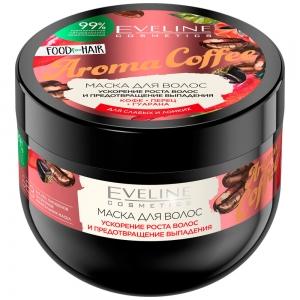 Food for Hair Маска для волос Aroma Coffee ускорение роста и предотвращения выпадения, 500мл