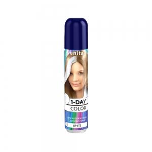 Оттеночный спрей для волос 1-DAY COLOR 01 Снежная бель, 50мл