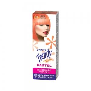 Красящий тонер-крем для волос TRENDY CREAM 23 Сладкий абрикос, 75мл+бальзам для волос 2х15мл