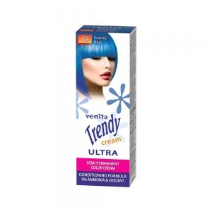 Красящий тонер-крем для волос TRENDY CREAM 39 Голубой космос, 75мл+бальзам для волос 2х15мл
