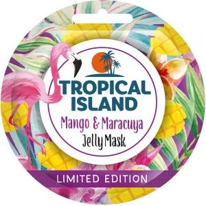 "Маска для лица Tropical Island ""Манго и маракуйя"", 10г (гелевая)"