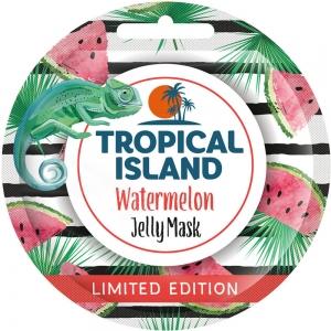 """Маска для лица Tropical Island """"Арбуз"""", 10г (гелевая)"""
