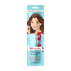Ватная палочка для пилинга лица Clean Your Skin (1шт)
