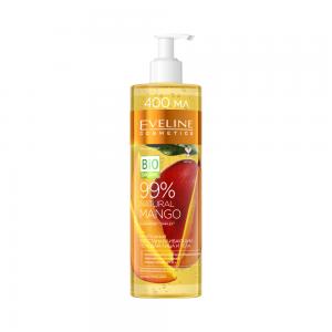"""Гель для лица и тела 99% Natural """"Mango"""" питательный восстанавливающий 3в1, 400мл"""