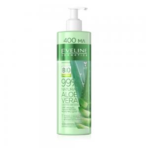 Молочко для тела 99% Natural Aloe Vera Смягчающее увлажняющее 3в1, 400мл