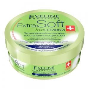 Extra Soft Крем для лица и тела bioОливки Эксклюзивный интенсивно-восстанавливающий, 200мл