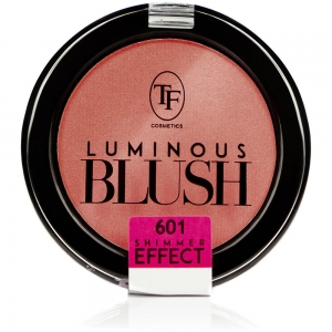 """Румяна пудровые для лица TBL-06-601C """"Luminous Blush"""" с шиммер эффектом тон 601 """"розовый лепесток"""""""