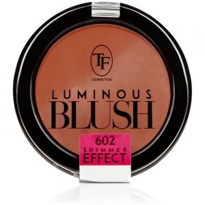 """Румяна пудровые для лица TBL-06-602C """"Luminous Blush"""" с шиммер эффектом тон 602 """"клубника со сливками"""""""