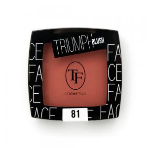 """TF румяна TBL-08-81C """"Triumph Blush"""" сатин.финиш тон 81 """"розовый нюд"""""""