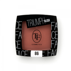 "TF румяна TBL-08-86C ""Triumph Blush"" сатин.финиш тон 86 ""оранжево-персик"""