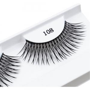 Накладные ресницы Fashion Lashes, арт. 108, черные