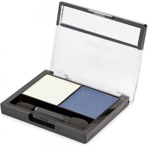 """Тени для век """"Color Show Eyeshadow"""" ТЕ-21-211C тон 211 Темное серебро и фиалковый"""
