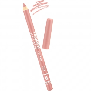 """Карандаш для губ W-212-201C тон №201 """"Triumph of Color"""", пыльно-розовый"""