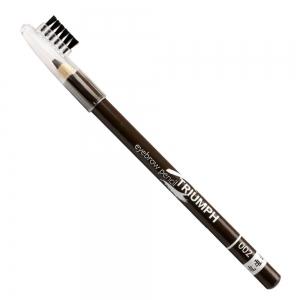 """Карандаш для бровей W-219-002C тон №002 """"Eyebrow Pencil""""/ со щеточкой"""