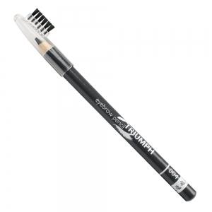 """Карандаш для бровей """"Eyebrow Pencil"""" W-219-004C тон №004 Grey, со щеточкой"""