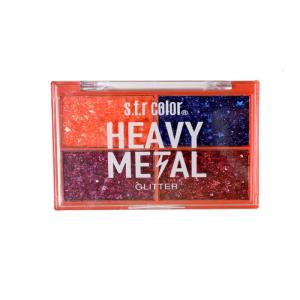 """Тени д/век """"Glitter"""" 7338 Heavy Metal тон 01"""