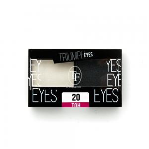 """TF тени д/век """"Triumph Eyes"""" ТЕ-33-20C 2-цв. тон 20 """"белый и черный"""""""
