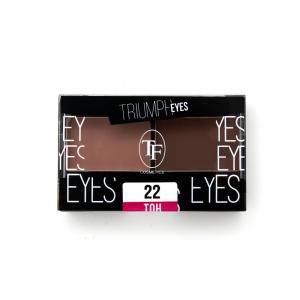 """TF тени д/век """"Triumph Eyes"""" ТЕ-33-22C 2-цв. тон 22 """"бежевый и ореховый"""""""