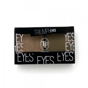 """TF тени д/век """"Triumph Eyes"""" ТЕ-33-24C 2-цв. тон 24 """"золотая маслина и зеленый тростник"""""""