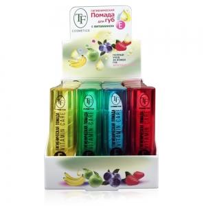 Гигиеническая помада для губ TLB-01 с витамином Е