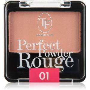 "Румяна для лица ""PerfectPowderRouge"" TBL-1-01C тон 01 розовые лепестки"